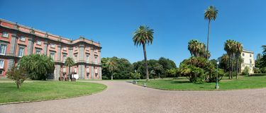 Royal Palace of Capodimonte, Naples Stock Photography