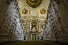 Royal Palace - Caserta, Italia foto de archivo libre de regalías
