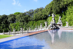 Royal Palace of Caserta, Italy. Stock Image