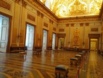 Royal palace of Caserta Stock Photos