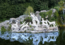 Royal Palace of Caserta, Italy. Royalty Free Stock Images