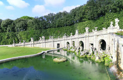 Royal Palace of Caserta, Italy. Royalty Free Stock Photography