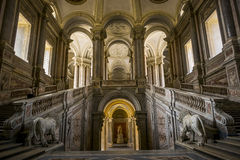 Royal palace - caserta, italy Stock Photos
