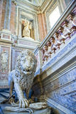 The royal palace of Caserta Stock Image