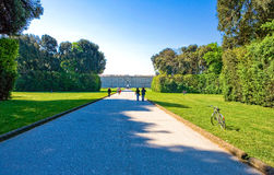 The royal palace of Caserta Royalty Free Stock Photos