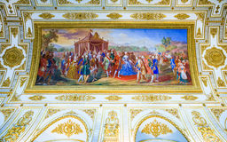 The royal palace of Caserta Stock Images