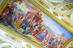 The royal palace of Caserta Stock Photos
