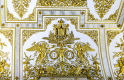The royal palace of Caserta Royalty Free Stock Images
