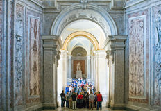 The royal palace of Caserta Stock Photography
