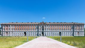 The Royal Palace in Caserta Reggia di Caserta royalty free stock photography