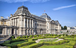 The Royal Palace in center of Brussels. Belgium Royalty Free Stock Image