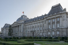 The Royal Palace in the center of Brussels, Belgium. Stock Photography