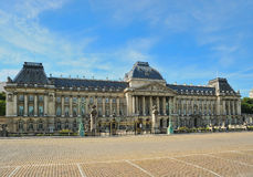 The Royal Palace in center of Brussels Stock Photos