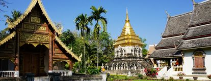 Royal Palace in Chiang Mai Royalty Free Stock Photography