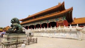 Royal Palace in città severa Immagini Stock Libere da Diritti