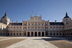 The royal palace. In the city of Aranjues, Spain Royalty Free Stock Photos