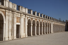 The royal palace. In the city of Aranjues, Spain Stock Image