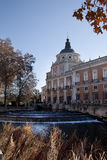 The royal palace. In the city of Aranjues, Spain Royalty Free Stock Photo