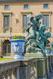 Royal Palace clôturent Stockholm, Suède Photographie stock libre de droits