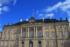 Royal Palace, Copenhagen Stock Photo