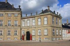 Royal Palace, Copenhagen Stock Images