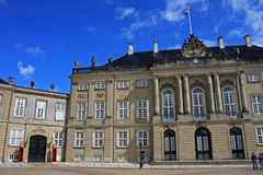 Royal Palace, Copenhagen. Royal palace in Copenhagen, Denmark Stock Image