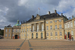Royal Palace, Copenhagen Royalty Free Stock Image