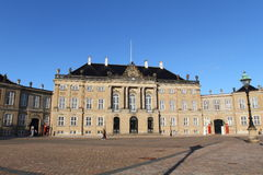 Royal palace of Copenhagen Royalty Free Stock Image