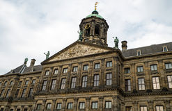 Royal palace at the Dam Amsterdam Royalty Free Stock Photography