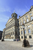 Royal Palace on the Dam Square, Amsterdam. AMSTERDAM-AUG. 20, 2012. Royal Palace at Aug. 20, 2012 in Amsterdam. Built as city hall during the Dutch Golden Age ( Stock Photos