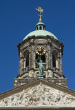 Royal Palace at the Dam Square, Amsterdam. Royalty Free Stock Images
