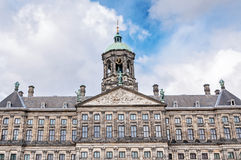 The Royal Palace In Dam Square, Amsterdam, Netherlands Royalty Free Stock Images