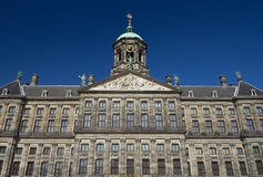 Royal Palace at the Dam Square, Amsterdam. Stock Photography