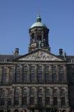 Royal Palace at dam square Royalty Free Stock Photography