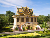 Royal Palace dans Phnmom Penh, Cambodge Image stock