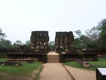 Royal Palace dans Polonnaruwa photographie stock