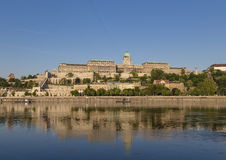 Royal Palace on the Danube in Buda Stock Photography