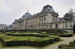 Royal Palace de Bruselas Foto de archivo libre de regalías