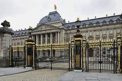 Royal Palace de Bruselas Fotos de archivo libres de regalías