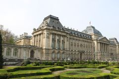 Royal Palace de Bruxelas imagem de stock