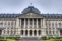 Royal Palace de Bruxelas, Bélgica. Fotografia de Stock
