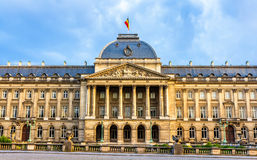 Royal Palace de Bruxelles Photographie stock libre de droits