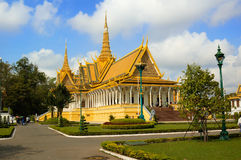 Royal Palace de Camboya imagen de archivo