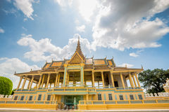 Royal Palace de Camboya Imagenes de archivo