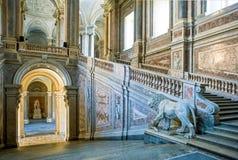 Royal Palace de Caserta Fotos de Stock Royalty Free