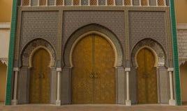 Royal Palace de Fes I imágenes de archivo libres de regalías