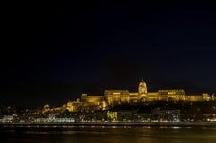 Royal Palace de Hungría Fotografía de archivo libre de regalías