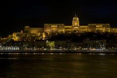 Royal Palace de Hungría Fotos de archivo libres de regalías