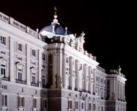 Royal Palace de Madrid imagen de archivo