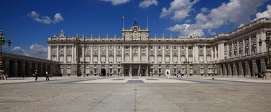 Royal Palace de Madrid Foto de archivo